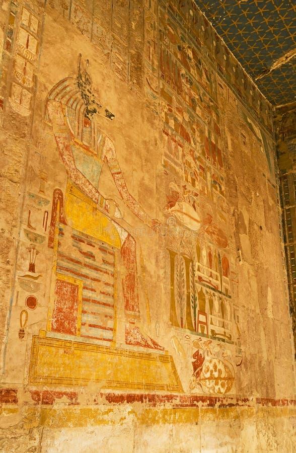 Anubis壁画  库存图片