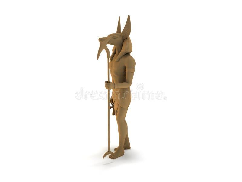 Anubis vector illustratie