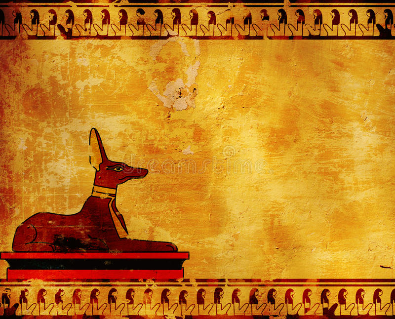 Anubis illustrazione vettoriale
