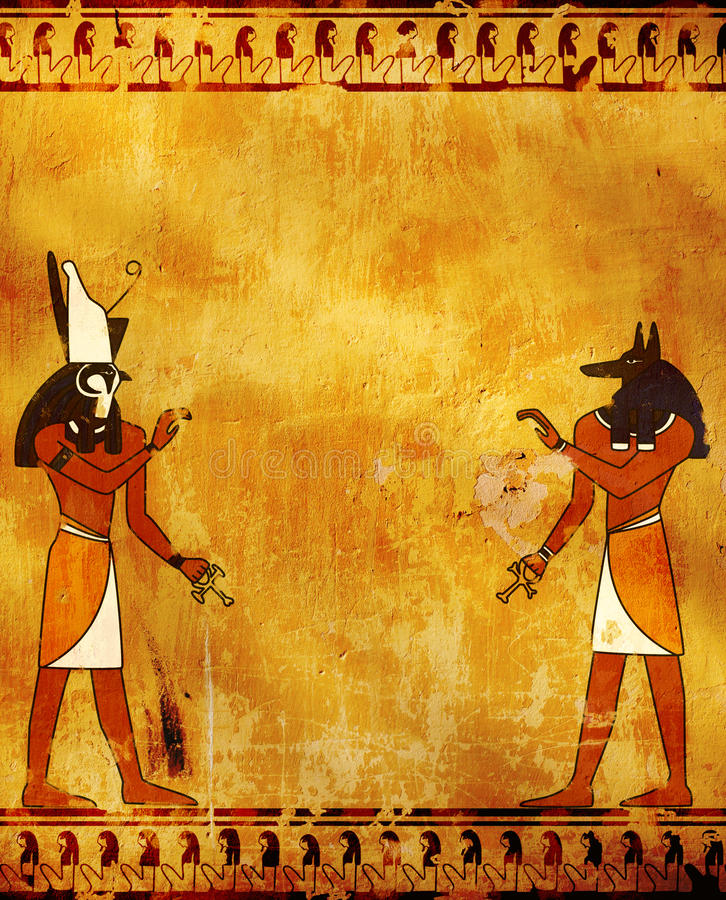 Free Anubis And Horus Stock Images - 16263784