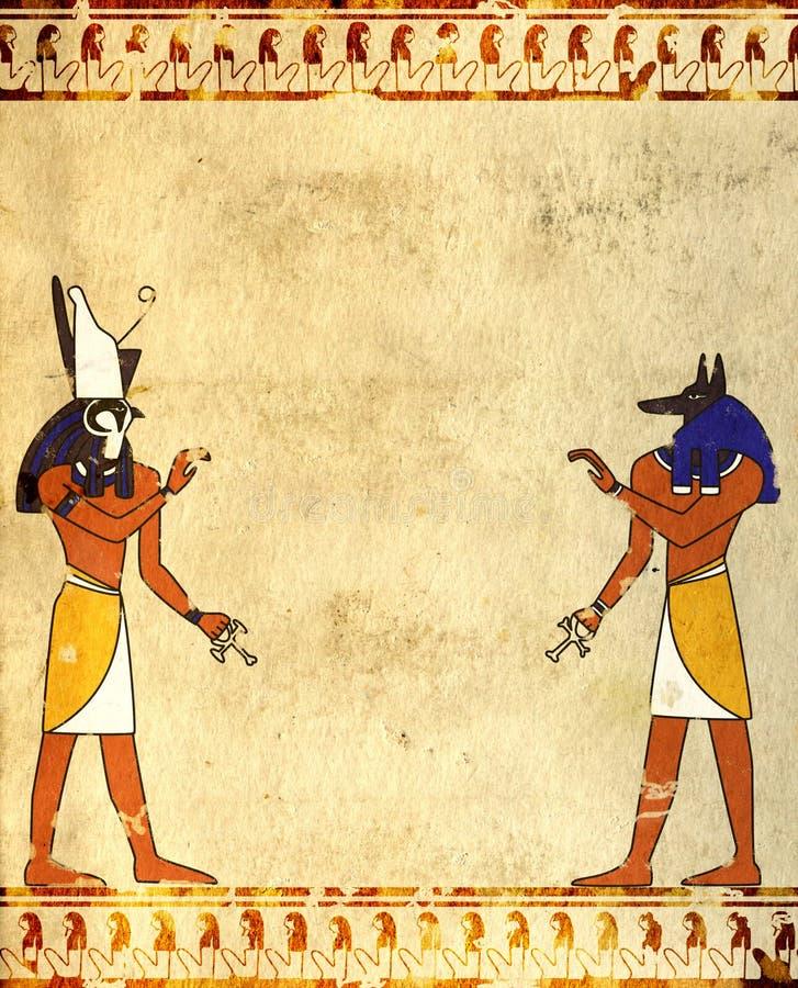 anubishorus royaltyfri illustrationer
