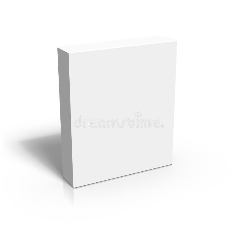 Anule a caixa 3D ilustração royalty free