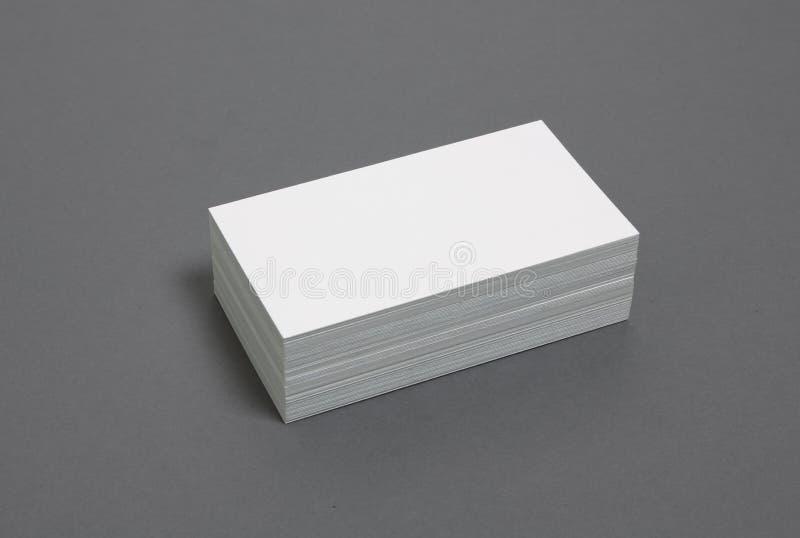 Anule empilhado acima dos cartões fotos de stock