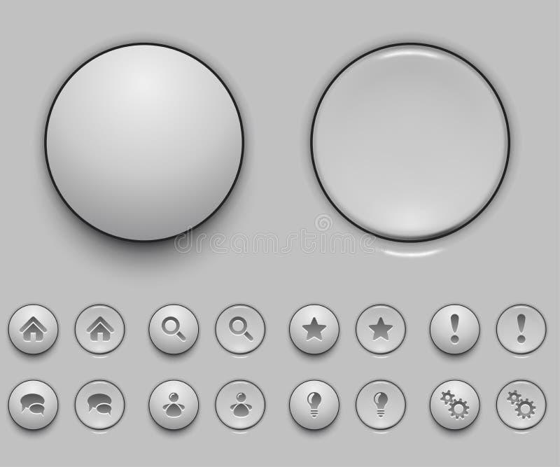Download Anule O Molde Branco Da Tecla Ilustração do Vetor - Ilustração de realístico, menu: 29833119