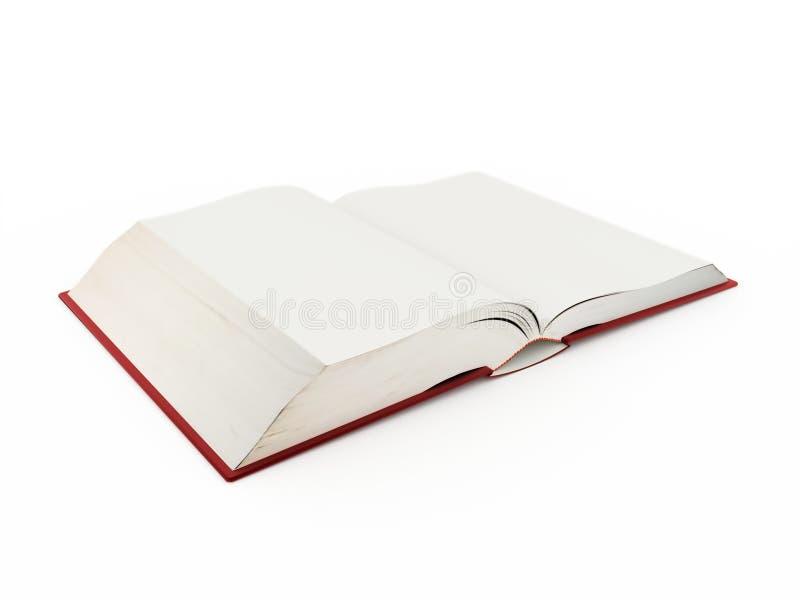 Anule o livro aberto ilustração royalty free