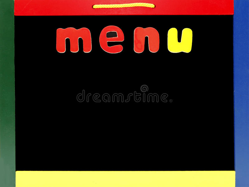 Anule O Menu Fotos de Stock Royalty Free