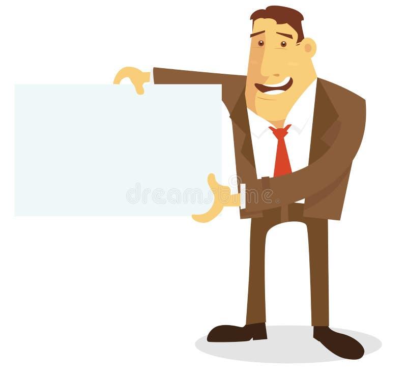 Anuncio stock de ilustración