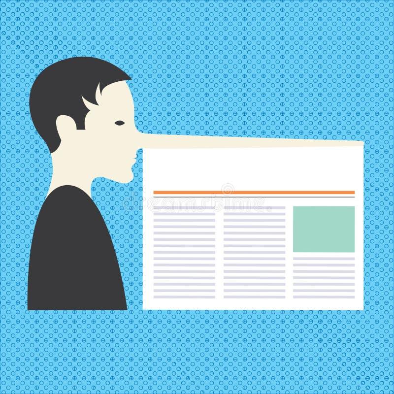 Anuncio del negocio del concepto del negocio del diseño para el hombre social vacío del anuncio de los medios de las banderas de  stock de ilustración