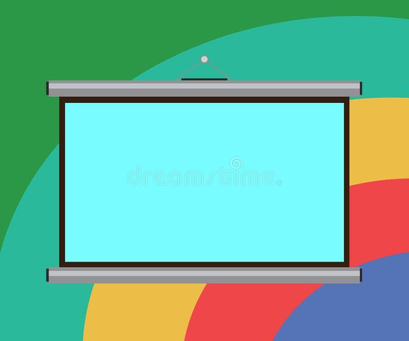 Anuncio del negocio del concepto del negocio del diseño para la pared portátil de los medios de las banderas de la promoción de l ilustración del vector
