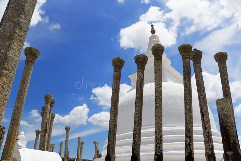 anuradhapura lanka sri寺庙thuparamaya 免版税库存照片