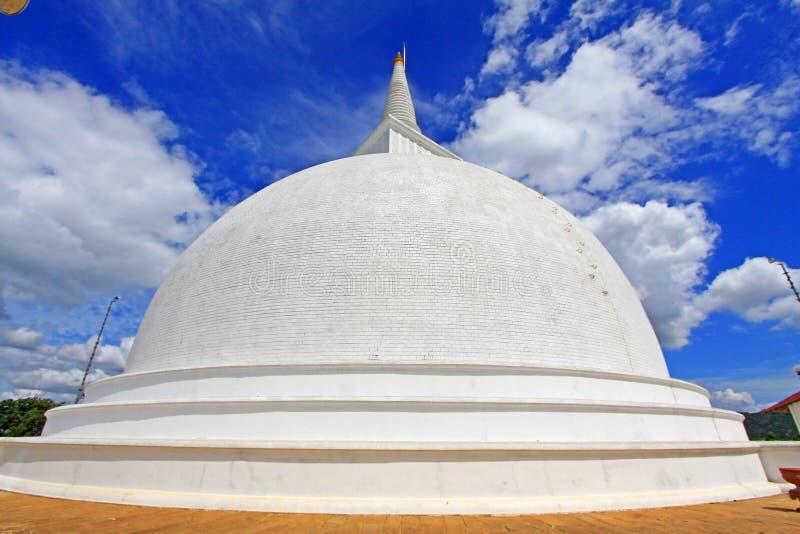 Anuradhapura Mihintale Maha Stupa, Sri Lanka UNESCO World Heritage. Mihintale is a mountain peak near Anuradhapura in Sri Lanka. This large stupa known as the stock photos