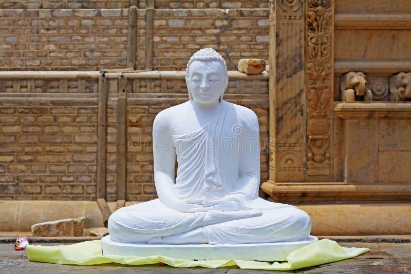Anuradhapura Ruwanwelisaya stupa, Sri Lanka UNESCO światowe dziedzictwo fotografia stock
