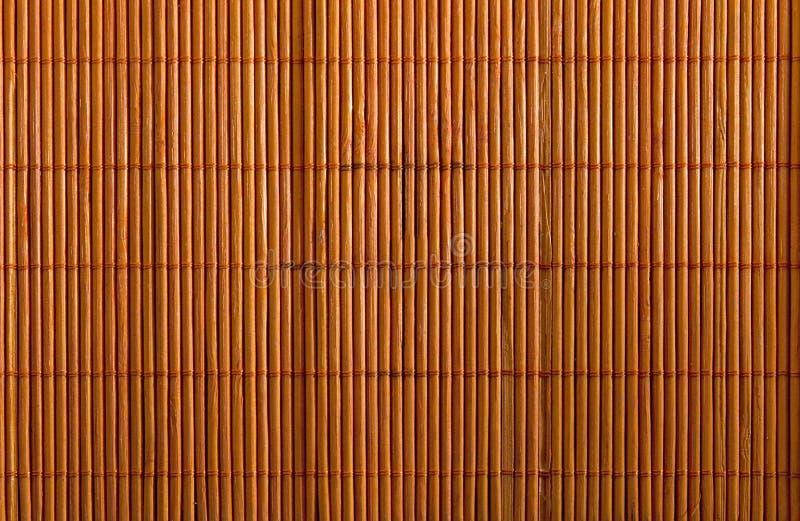 använd bambuservett royaltyfri fotografi