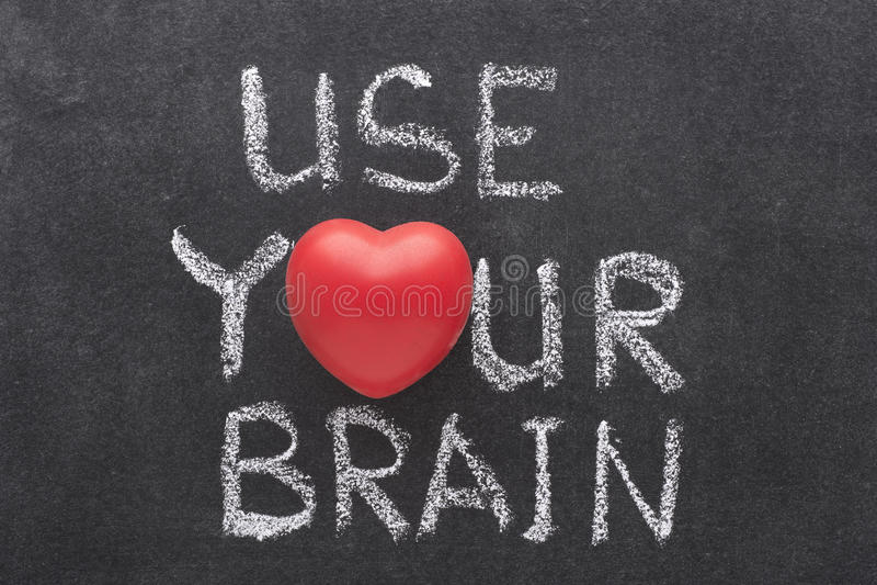 Använd din hjärna fotografering för bildbyråer