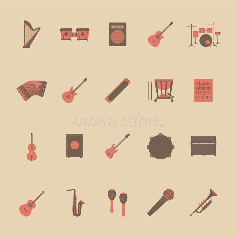 Användbart för olik design stock illustrationer