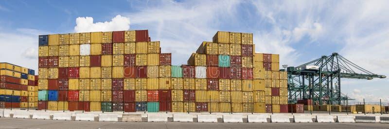 Anvers, Belgique - 17 septembre 2017 : journées 'portes ouvertes' dans le port d'Antwe images stock