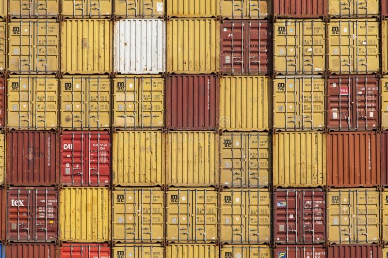 Anvers, Belgique - 17 septembre 2017 : journées 'portes ouvertes' dans le port d'Antwe photos libres de droits