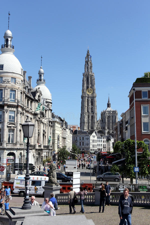 Anversa, Belgio fotografia stock libera da diritti
