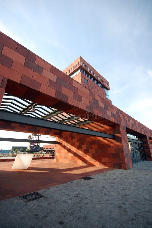 Il museo di MAS a Anversa immagine stock libera da diritti