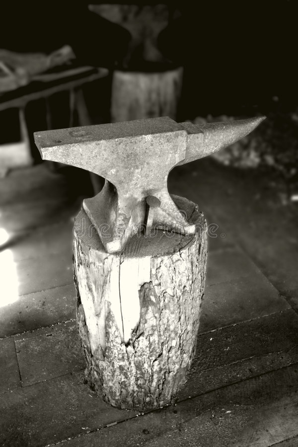 Download Anvil stock image. Image of hammer, industrial, smith - 1028327