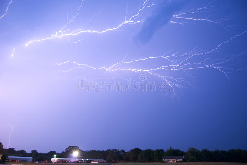 Download Anvil Crawlers stock photo. Image of climate, electrical - 20064022