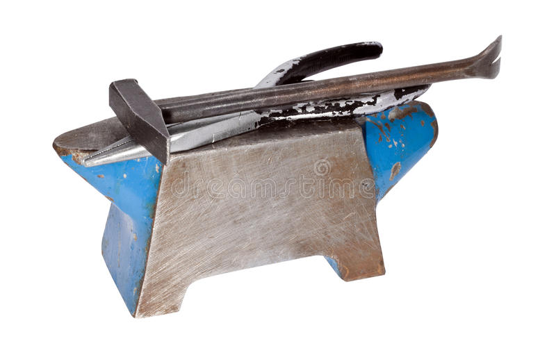 Download Anvil With Intrument Royalty Free Stock Photography - Image: 28933637