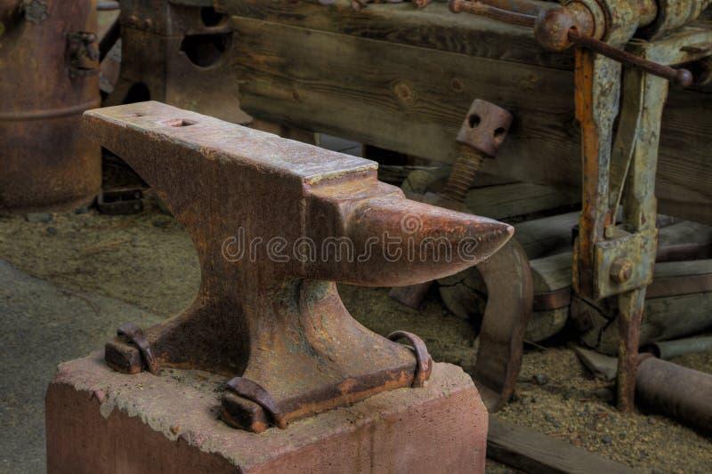 Download Anvil stock photo. Image of concrete, blacksmith, rusty - 33252260