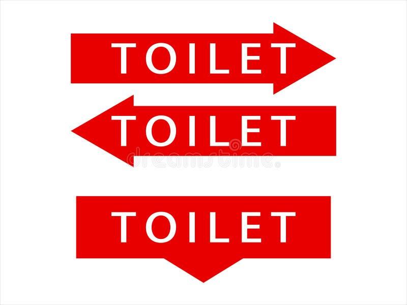 Anvisningar för toaletthandstilsymboler vektor illustrationer