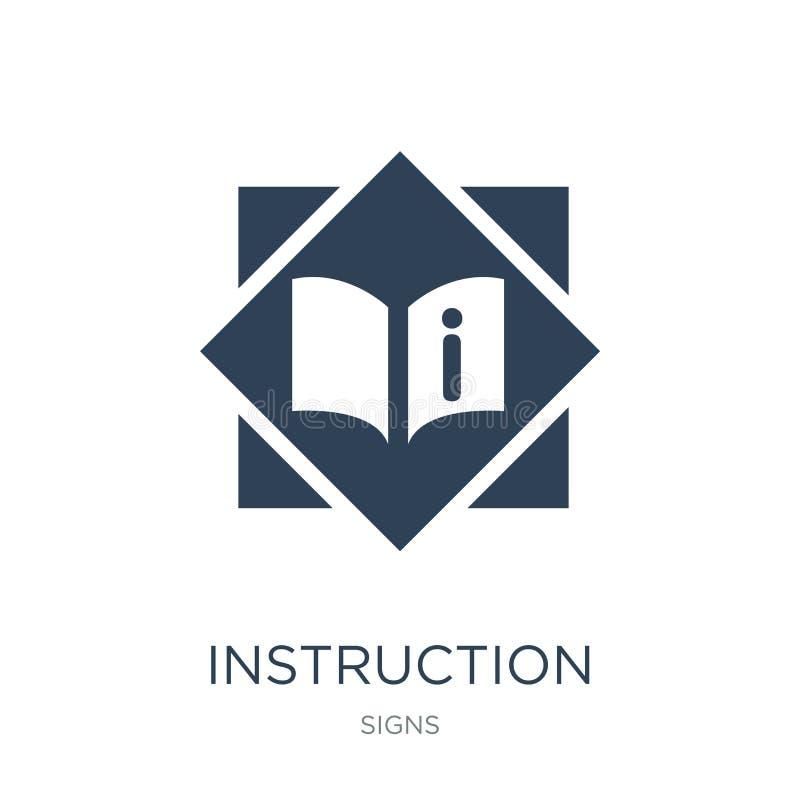 anvisningssymbol i moderiktig designstil anvisningssymbol som isoleras på vit bakgrund modern anvisningsvektorsymbol som är enkel stock illustrationer