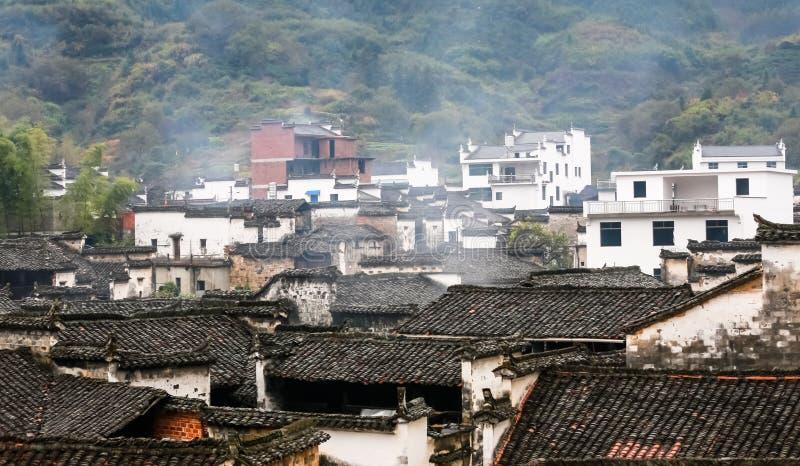 Anwei wiejski zdjęcie royalty free
