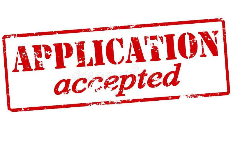 Anwendung angenommen vektor abbildung