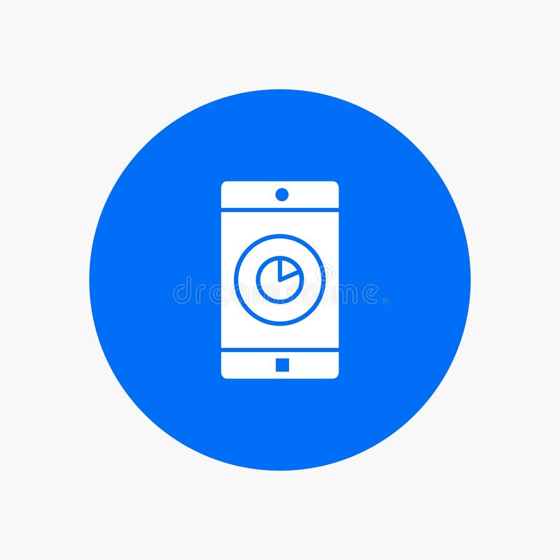 Anwendung, Mobile, bewegliche Anwendung, Zeit stock abbildung