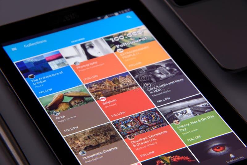 Anwendungen auf einem Smartphone lizenzfreie stockbilder