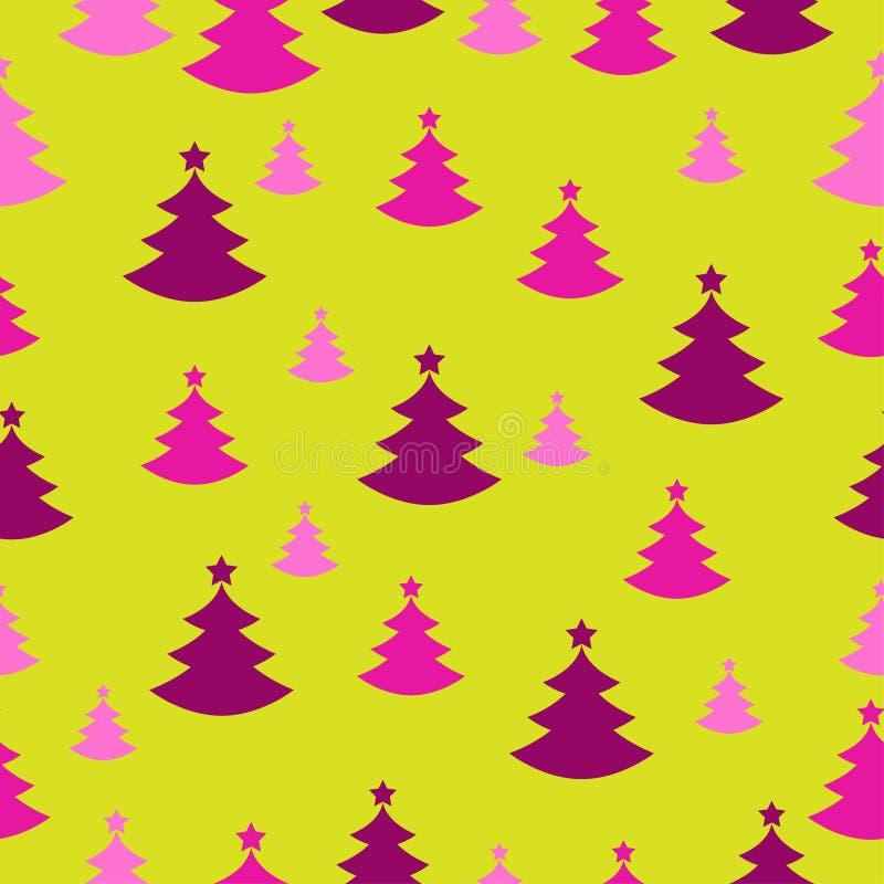 Anwesendes Papier der nahtlosen Weihnachtsdekoration stockbild