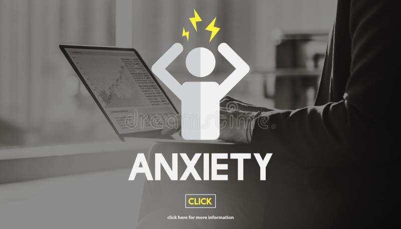 Anxiety Apprehension Medicine Nervous Panic Concept. Anxiety Apprehension Medicine Nervous Panic royalty free stock photo