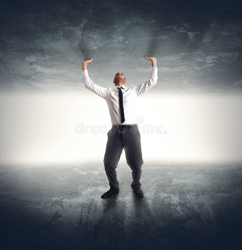 Free Anxiety Businessman Stock Photo - 48436810