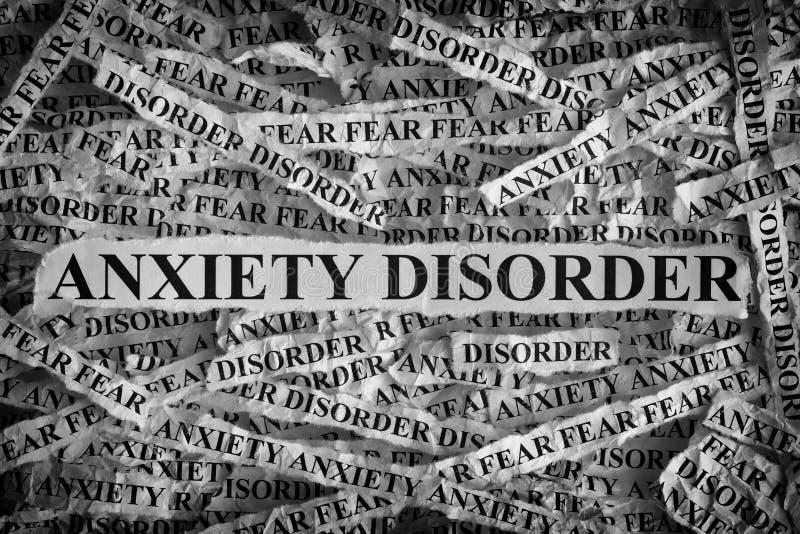 Anxiety Disorder royalty free stock photos