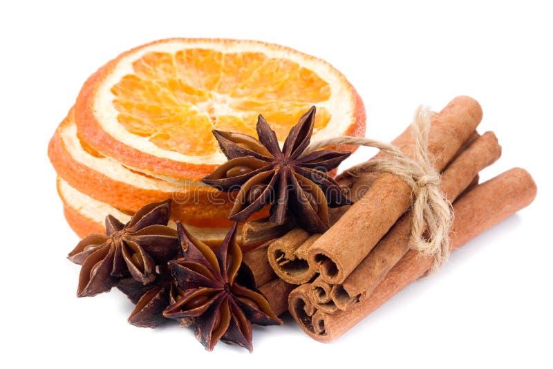 anyżowa cynamonowa pomarańcze zdjęcia royalty free