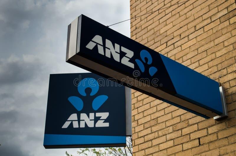 ANZ-filial royaltyfria bilder