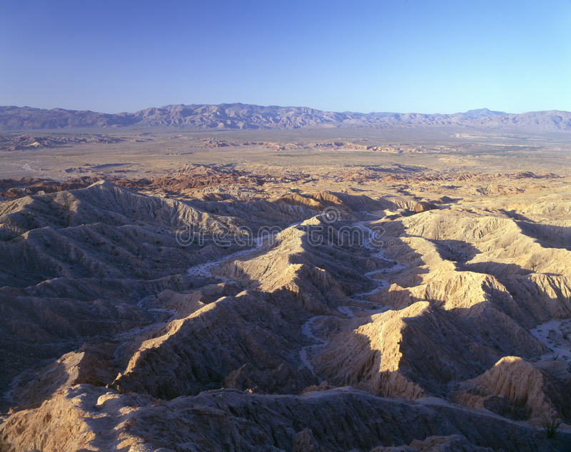 Anza Borrego Desert State Park stock photography