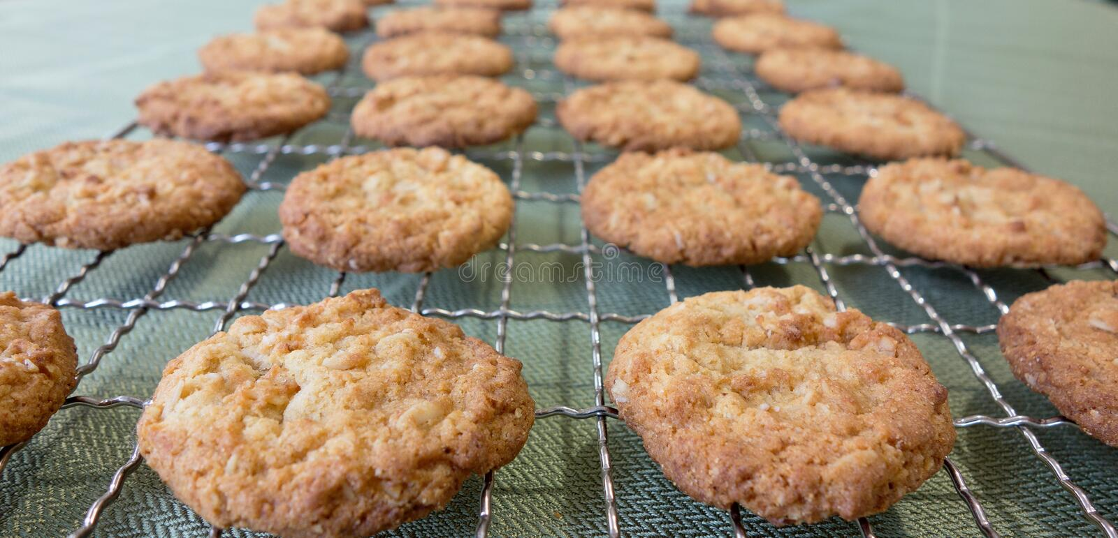 Anzac Biscuits For Anzac Day. image libre de droits