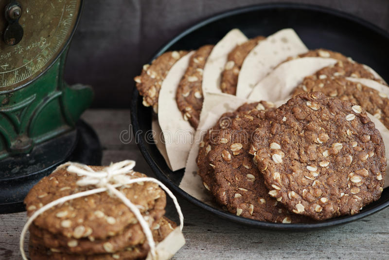 Anzac Biscuits stock images