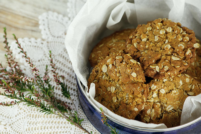 Anzac Biscuits royalty free stock photography