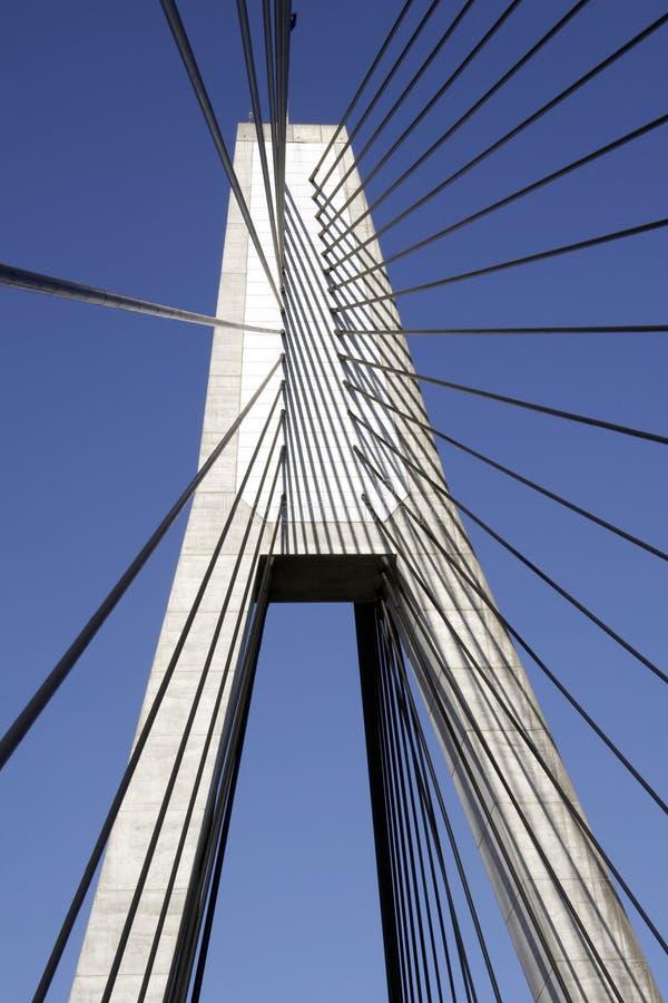 Anzac Bridge Pylon stock photos
