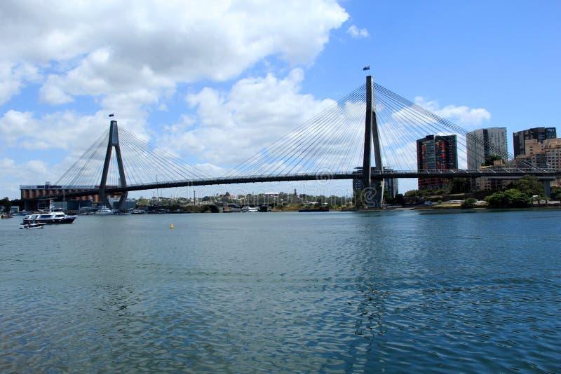 Anzac Bridge, Sydney, Australie photos stock