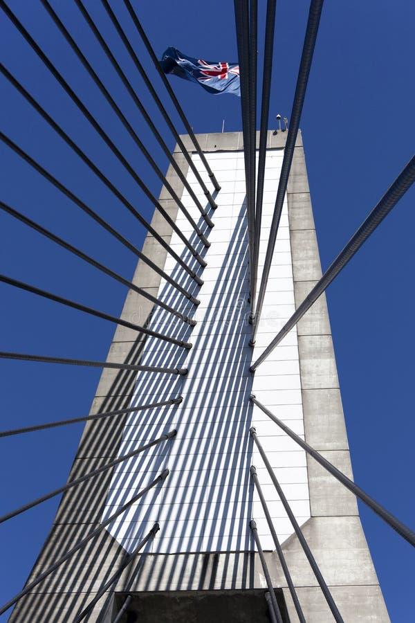 Anzac Bridge Tower photos libres de droits