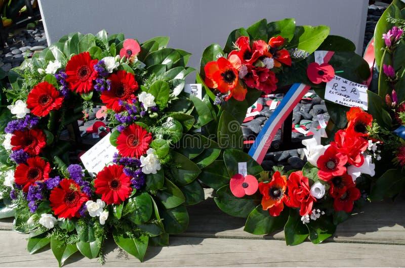 Anzac Day - cérémonie commémorative de guerre photographie stock