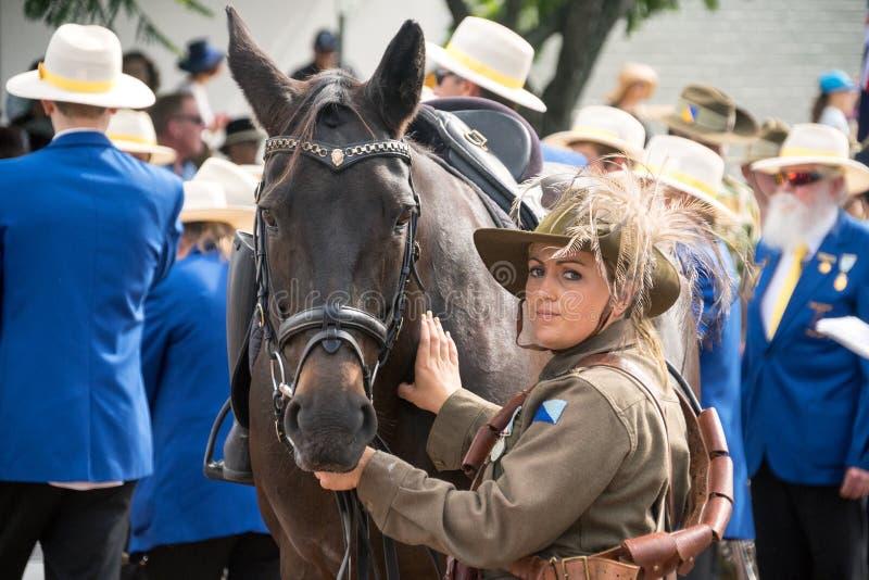 Anzac Day Celebration Australia photos libres de droits