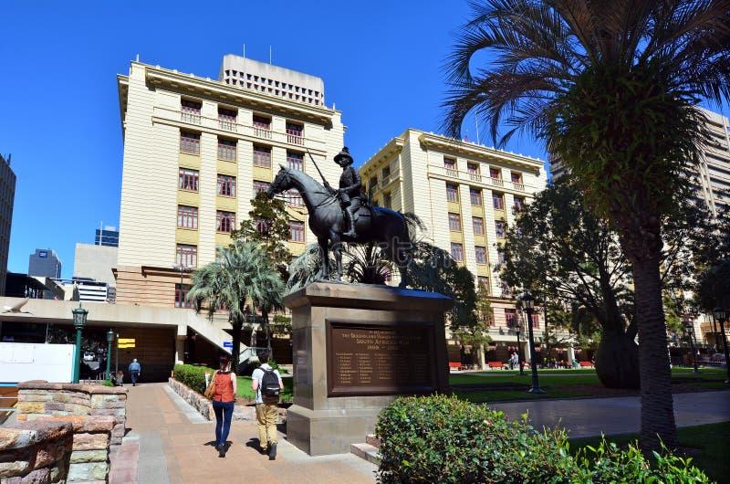 ANZAC kwadrat Brisbane, Queensland, - Australia zdjęcia royalty free