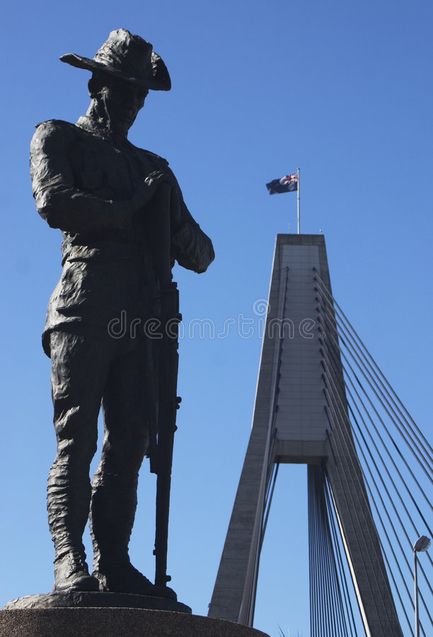 Free ANZAC Memorial Royalty Free Stock Photography - 1126277